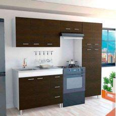 precios de cocinas integrales en homecenter cocina integral ferreti 2 20 metros 11 puertas 3 cajones wengue blanco con mes 243 n y poceta
