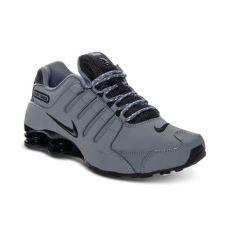 nike shox 2017 mens lyst nike mens shox nz eu running sneakers in gray for