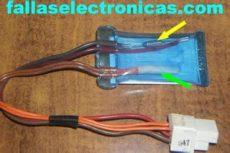 fusible termico refrigerador diferencia entre fusible termico y bimetal de nevera no