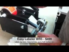 lip balm label applicator easy labeler wr5 lip balm vial label applicator