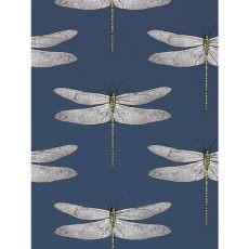 harlequin wallpaper dragonfly harlequin demoiselle wallpaper ink chartreuse 111243 in 2020 dragonfly wallpaper