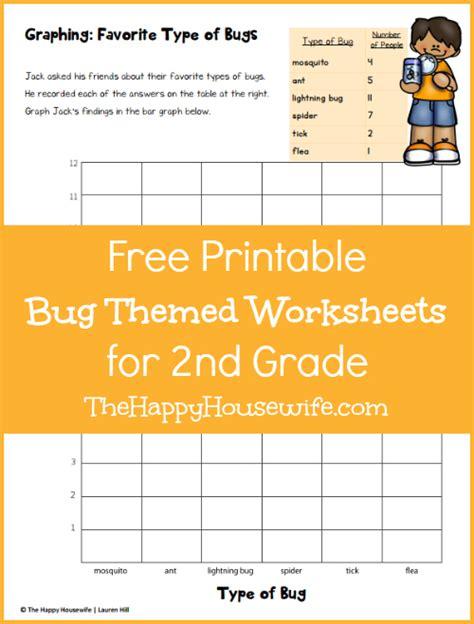 bug worksheets free printables happy housewife home schooling