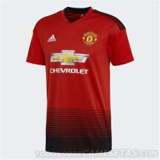 kit dls manchester united 201819 manchester united adidas home kit 2018 19 todo sobre camisetas