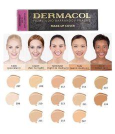 dermacol foundation shades dermacol make up cover foundation 30g shade 222 buy dermacol make up cover foundation 30g