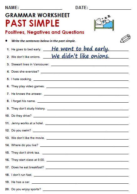free printable grammar worksheets quizzes games