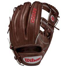 h web baseball glove infield wilson a2000 1787 11 75 inch h web walnut infield baseball glove r national sports