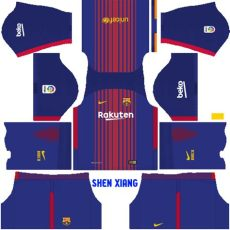 jersey kit dls 18 barca update fc barcelona 2017 18 kit dls fts