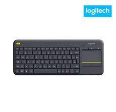 teclado numerico inalambrico logitech teclado logitech k400 plus touch inal 225 mbrico alfanum 233 negro ktronix tienda
