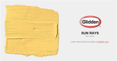 sun rays paint color glidden paint colors glidden
