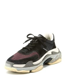 balenciaga triple s sneakers sale balenciaga s s mesh leather sneakers neiman