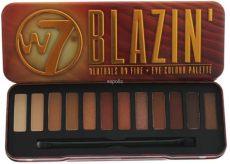 w7 blazin eye colour palette w7 blazin naturals on eye colour palette uk wholesaler and supplier