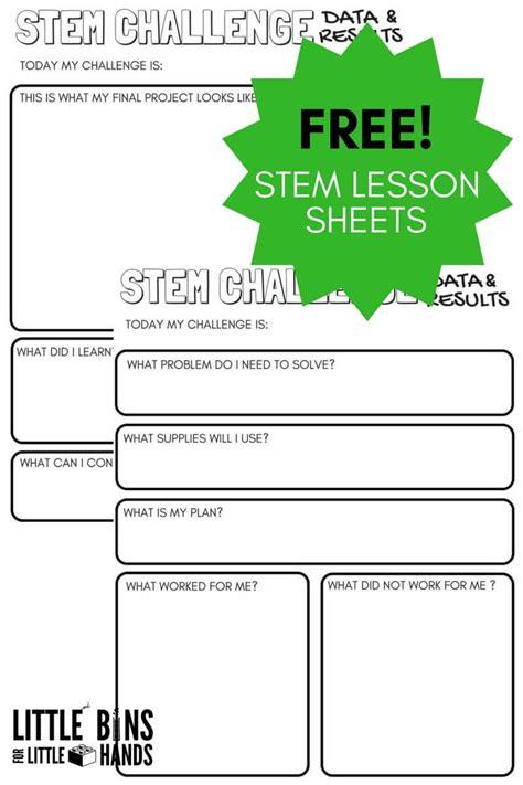 free science worksheets kids bins hands