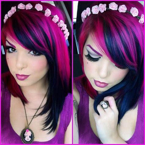 time dye hair hair color pink hair inspiration