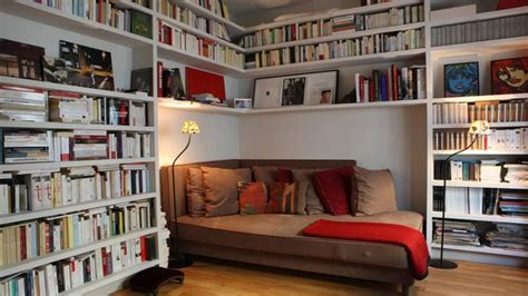 small office couch small home library ideas tiny