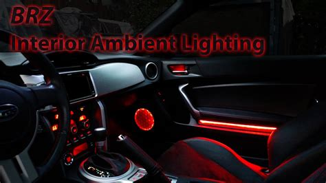 brz ambient lighting installed youtube