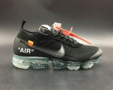 nike air vapormax off white black white x nike air vapormax 2018 black total crimson clear for sale hoop