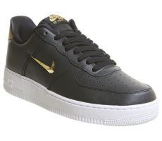 air force 1 jewel black gold nike air 1 trainers black metallic gold white his trainers