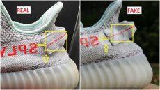 fake yeezy boosts instagram adidas yeezy 350 v2 blue tint 2 0 spotted ways to identify them arch usa