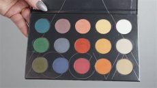 zoeva matte spectrum palette swatches zoeva matte spectrum eyeshadow palette swatches and review