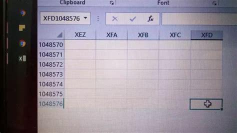 maximum number rows excel 2016 quora