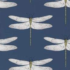 style library the premier destination for stylish and quality design products - Harlequin Wallpaper Dragonfly