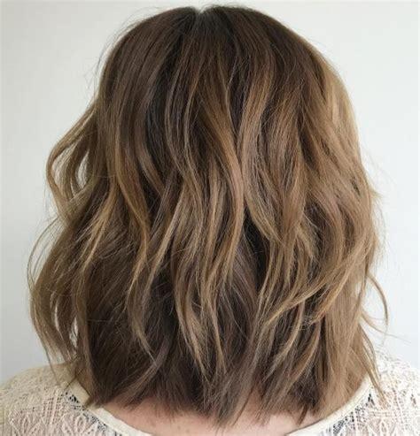 80 sensational medium length haircuts thick hair 2019