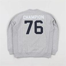 chion x beams sweatshirt chion x beams mens graphic logo crew neck sweatshirt grey 163 65 00