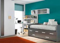 recamaras modernas para jovenes hombres gris y turquesa buena combinaci 243 n habitaciones infantiles en 2019 decoraci 243 n de habitaci 243 n