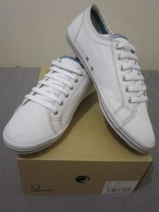 nurih s outlet sold fred perry kingston twill tipped shoes size uk6 5 - Fred Perry Shoes Price