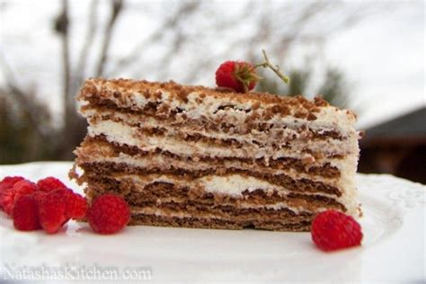 chocolate spartak cake recipe natashaskitchen cake recipes desserts