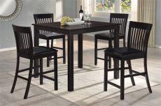 comedor alto 4 sillas precio comedor desayunador cuadrado alto mesa y 4 sillas cafe 5 199 00 en mercado libre