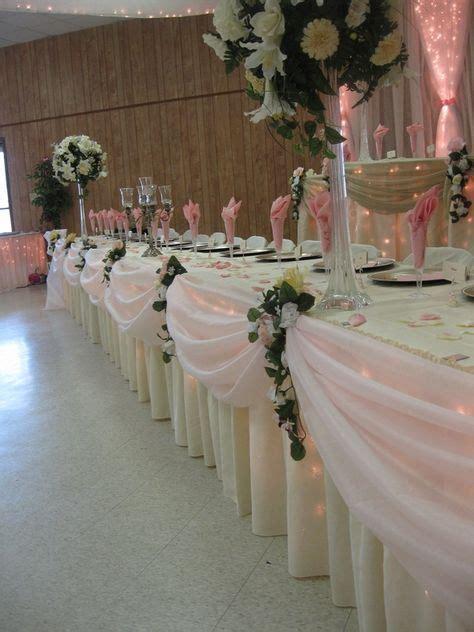 bridal party table decor bridal party table decorations