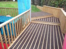 how to make decking non slippery low slip decking boards safawood rubbersmart co uk