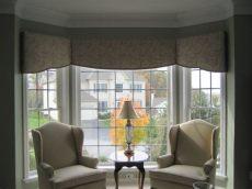 bay window cornice board yours by design cornice boards in home service custom window treatments curtains