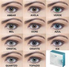 lente de contato mel hidrocor solotica lentes de contato solotica hidrocor grau anual r 139 99 em mercado livre