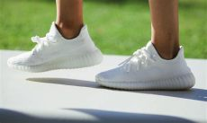 kanye west unveils an all white yeezy boost 350 - Yeezy 350 Boost All White
