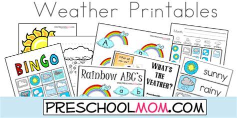 weather preschool printables preschool weather preschool printables preschool