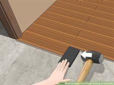 vinyl plank flooring installation on concrete easy ways to install vinyl plank flooring on concrete