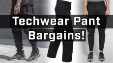 cheap techwear pants top affordable techwear you can buy right now