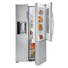 refrigerador lg dos puertas 21 7 pies con puerta instaview y puerta en puerta lsxc22396s - Modelos De Refrigerador Lg Dos Puertas