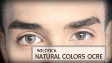 solotica ocre natural solotica colors ocre contact lenses