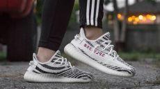 350 v2 zebra on feet yeezy 350 boost zebra v2 on review post restock