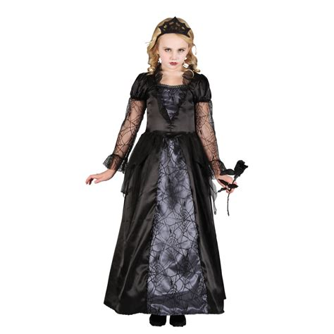 wicked queen princess girls halloween fancy dress kids