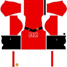 kit dls manchester united manchester united kits 2009 2010 league soccer