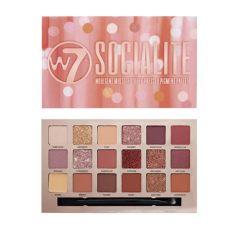 w7 eyeshadow palette w7 cosmetics socialite eyeshadow palette kopen boozyshop