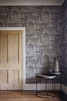 cole and son cow parsley wallpaper cow parsley by cole charcoal wallpaper wallpaper direct