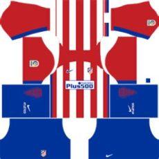 atletico madrid kits 2016 2017 league soccer - Kit Dls Atletico Madrid