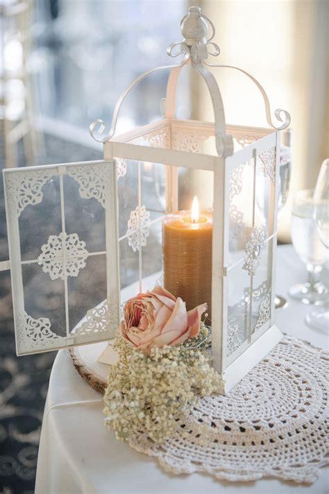 vintage chic diy wedding 2019 lantern centerpiece wedding