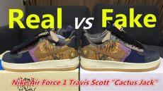 supreme air force 1 high real vs fake real vs quot cactus quot x nike air 1 travis review