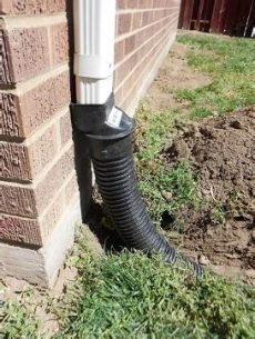 how to unclog a downspout from the ground clogged gutter pipes underground roof refresh